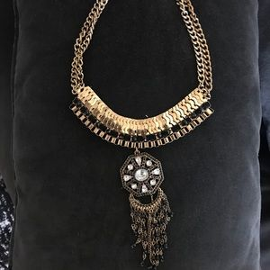 Free People medallion necklace